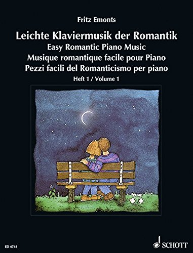 Leichte Klaviermusik der Romantik Klavier  Band 1