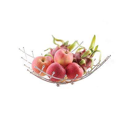 YANFUYING Frutero Acero Inoxidable Cesta de Frutas Cocina ...