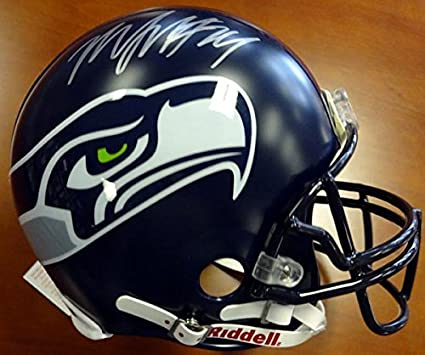 quality design cfebf f9f23 Amazon.com: Marshawn Lynch Autographed Seattle Seahawks ...