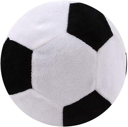 DeliV - Almohada de pelota de fútbol, peluche, peluche, suave ...
