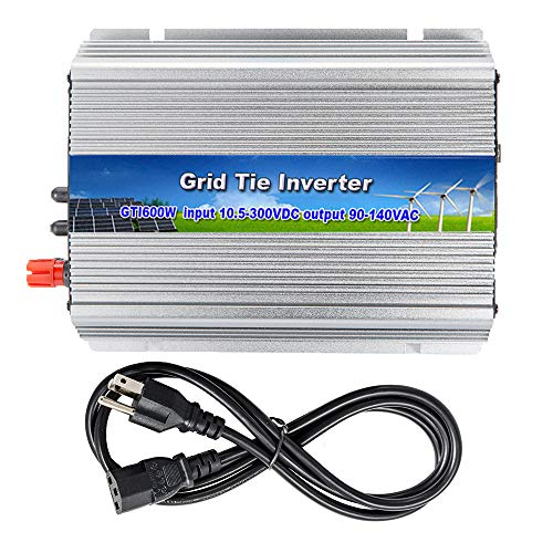 iMeshbean 600W 600 Watt Grid Tie Inverter MPPT Accept 10.8v-30 V DC 120v AC , Solar Power Pure Sine Wave USA Seller