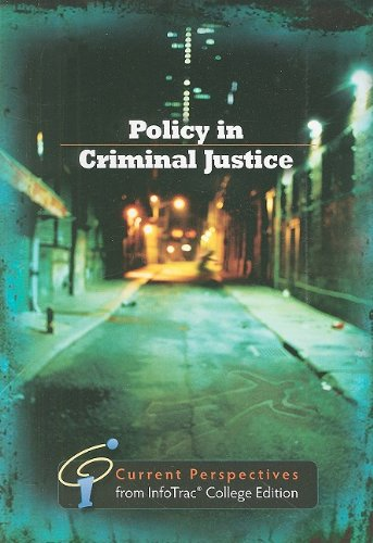 Policy in Criminal Justice: Current Perspectives from - Review 2 Predator