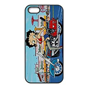 NICKER Betty boop Case Cover For iPhone 5S Case