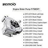 SCITOO Water Pump with Gasket fits for 2010 2015