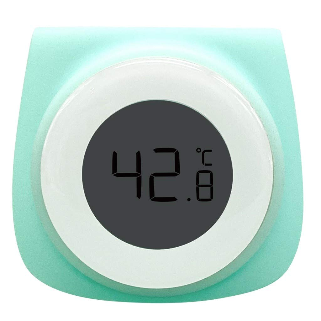 water Blau food Flaschenmometer Digitaler mometer f/ür measure the temperature of milk Digitaler Babyflaschenthermometer Baby-Bottle-mometer to keep your baby intestinal stomach Healthy