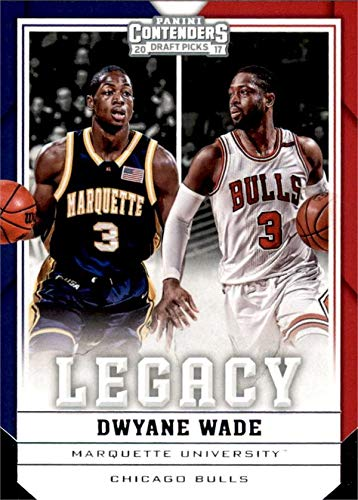 5f1d3709b21 Image Unavailable. Image not available for. Color: Dwyane Wade Basketball  Card (Marquette Golden Eagles) ...