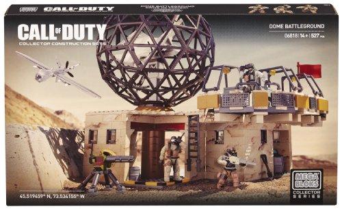 Mega Bloks Call of Duty Dome Battleground (Call Of Duty Mega Bloks Guns)