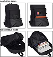 05c54f7c35fd Hynes Eagle Lightweight Student Backpack Casual Daypack for Travel with  Bottle Side Pockets Fits 15.6 Inch Laptop
