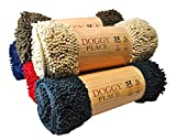 My Doggy Place - Ultra Absorbent Microfiber Dog Door Mat, Durable, Quick Drying, Washable, Prevent Mud Dirt, Keep Your House Clean (Oatmeal, Medium) - 31 x 20 Inch
