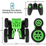 HALOFUN RC Cars Stunt Car Toy, 4WD 2.4Ghz Remote