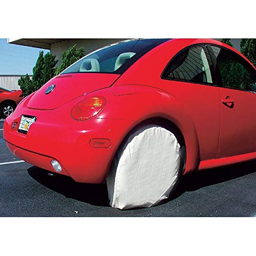 32'' Heavy Canvas Wheel Masker/Protection Set - 4pc by AES Industries (Image #3)