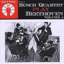 Streichquartette 13 & 15 by Busch Quartet (2009-05-04)