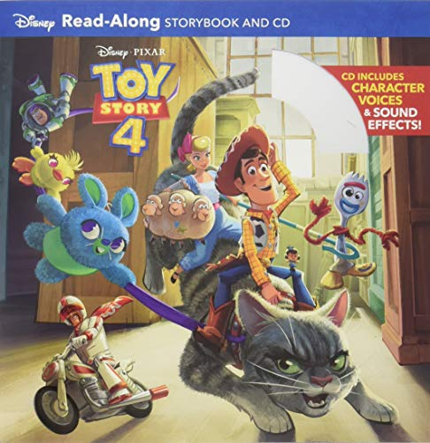 Toy Story 4 Read-Along Storybook and ()