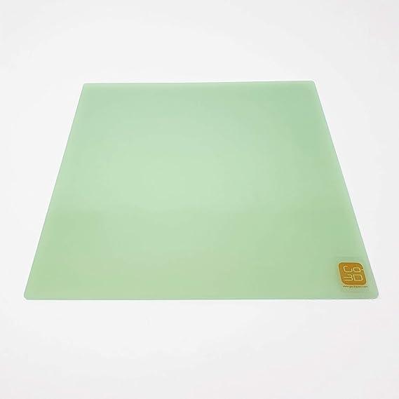 1 Creality Plate-forme en verre pour imprimante 3D 235 x 235 mm avec rev/êtement microporeux pour Ender-3 Pro//Ender-3S//Ender-3X 310x310MM