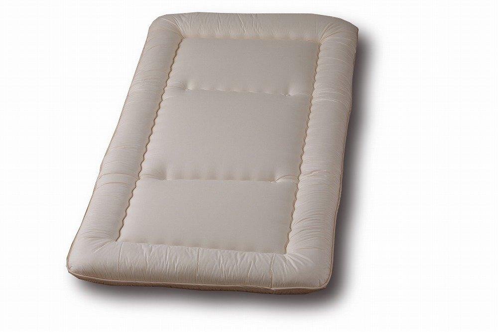 固綿敷き布団 シングルサイズアレルギー対応寝具のスザキーズ ダニホコリが出にくい敷布団、これ一枚では寒いという場合は敷きパッドを併用してください B00VSYUCMI