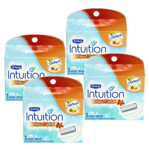 schick-intuition-moisturizing-tropical-splash-refill-razor-12-cartridges