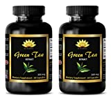 Product review for Weight loss vitamins for women - GREEN TEA EXTRACT - Green tea extract pills for weight loss - 2 Bottles 120 Capsules