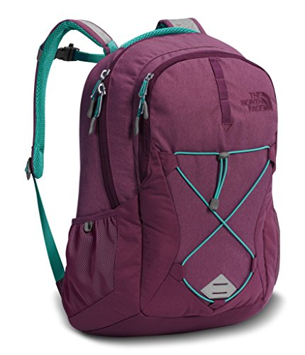 The North Face Women's Jester Backpack - Amaranth Purple Light Heather/Vistula Blue - One Size (Past Season) (Season Pack)