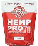 Manitoba Harvest Hemp Pro 70 Protein Powder, 32oz; with 20g Protein per Serving, Non-GMO