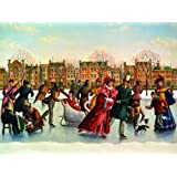 Skating Party - 275 Piece Jigsaw Puzzle