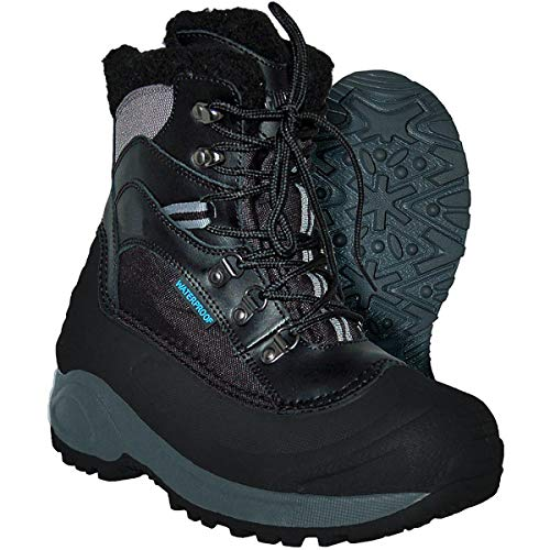 Itasca Boots Womens (Itasca Women's Sleigh Bell-W, Black/Grey 9 M US)