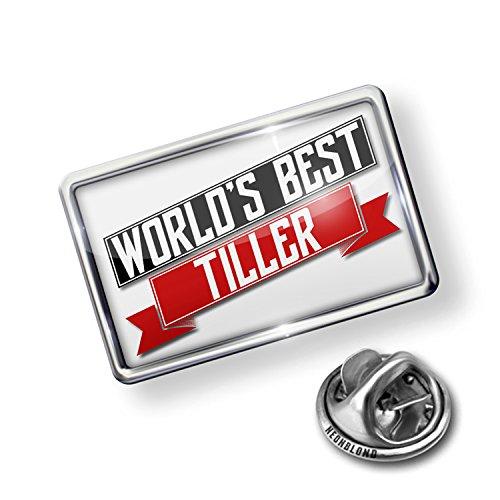 Pin Worlds Best Tiller - NEONBLOND (Tiller Pin)