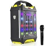 Best Karaoke Systems - Pyle PWMA275BT Wireless Karaoke Speaker, DJ Flash Light Review