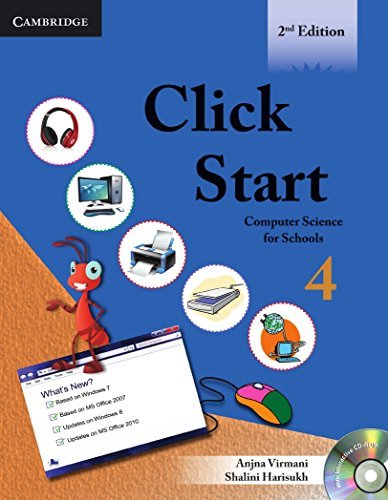 Click Start, Level 4: Computer Science for Schools (Cbse - Computer Science) -  Anjna Virmani, 2nd Edition