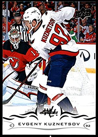 new concept 7b422 0af28 Amazon.com: 2018-19 Upper Deck Hockey Series Two #437 Evgeny ...