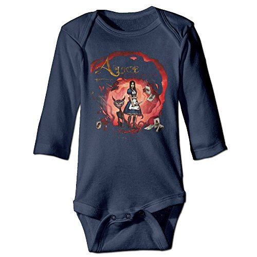 Kim Lennon Alice Returns Unisex Long-sleeve Newborn Climb Clothes Navy 6 - Mila Kunis Glasses