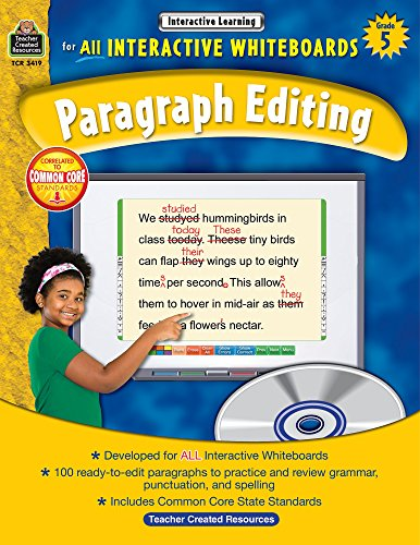 Interactive Learning: Paragraph Editing Grd 5