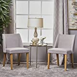 Radcliffe Fabric Side Chairs (Set of 2) (Light Grey)