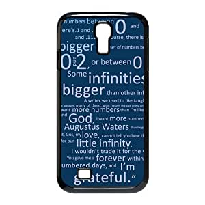Customize Your Unique The Fault In Our Star Back Case for Samsung Galaxy S4 I9500 JNS4-1512