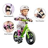 DaCool Knee Pads Set for Kids Elbow Pads Wrist