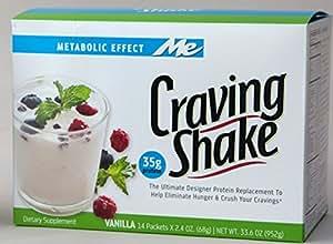 Craving Shake, Vanilla, 33. 6 Oz (952 g)