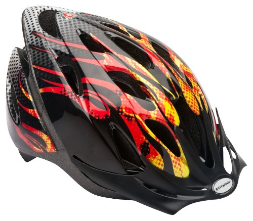 Schwinn Thrasher Lightweight Microshell Bicycle Helmet Featuring 360 Degree Comfort System with Dial-Fit...