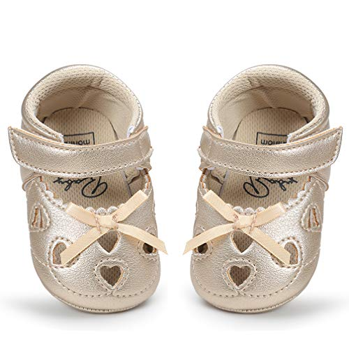 a182b89254323 LIVEBOX Infant Baby Girl¡¯s Shoes, Soft Sole Anti-Slip Crib Shoes