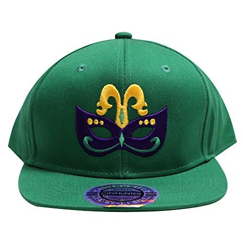 City Hunter Cf919 Mardi Gras Exclusive Masquerade Snapback Cap - Caps Exclusive Snapback