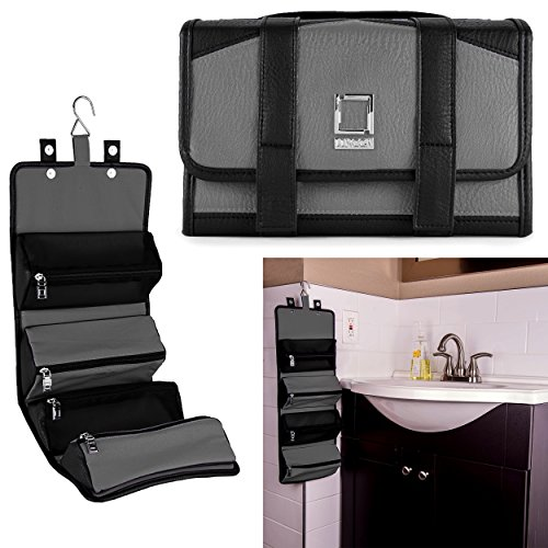 lencca-stowaway-womens-4-pouch-roll-up-travel-organizer-bag
