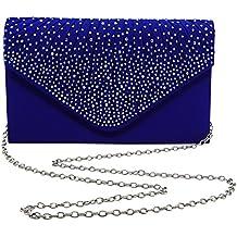 Dazzling Trendy Evening Wedding Party Handbag Purse Clutch