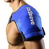 IceSleeve Shoulder Cold Packs, Blue