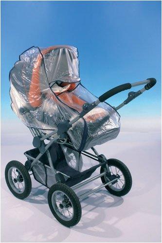 Regenverdeck für Kinderwagen Soft mit Reissverschluss Haberkorn