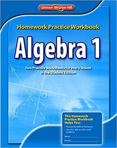 algebra 1 homework practice workbook answer key