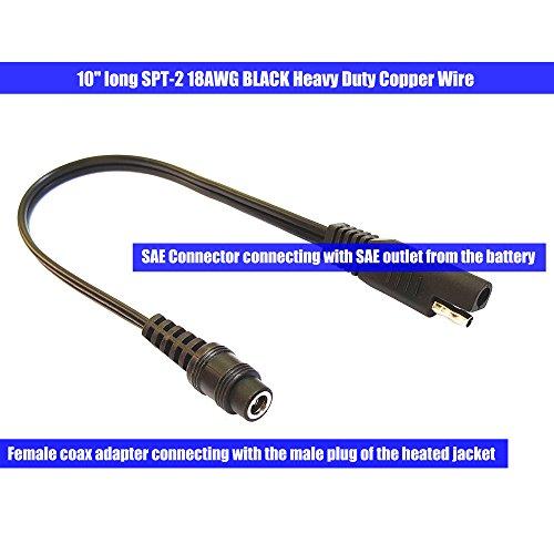 Heated gear adapter