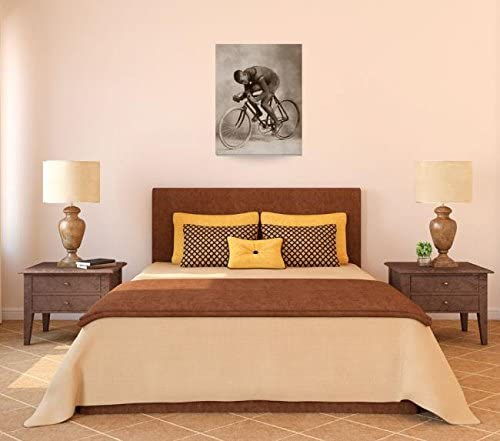 Wall Art Print Entitled 1898 Marshall Major Taylor Cycling Legend 2