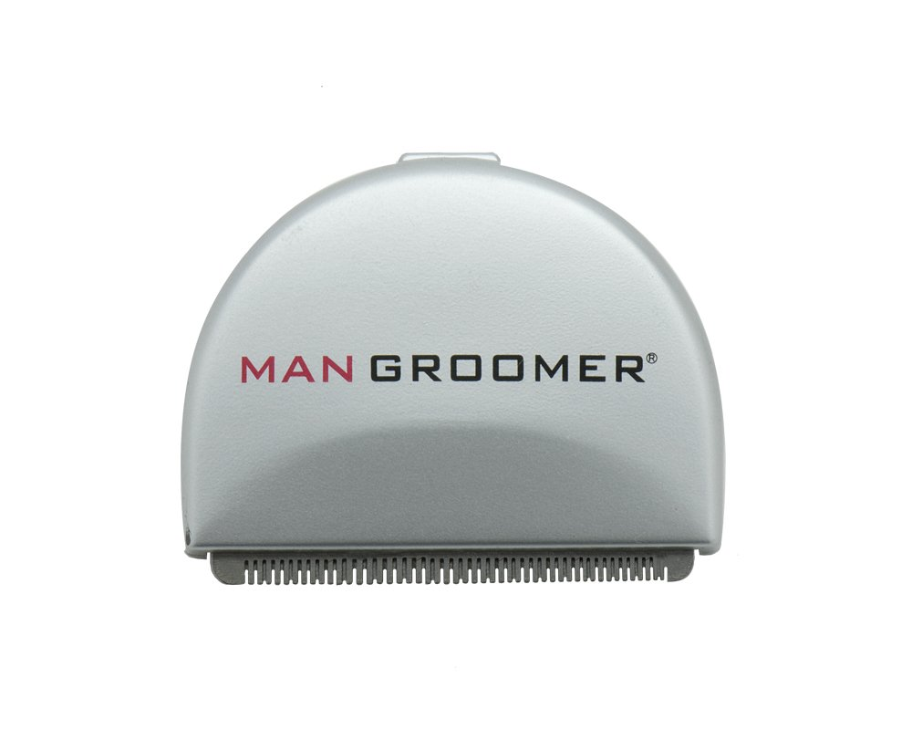 MANGROOMER Do-It-Yourself Electric Back Hair Shaver Premium Replacement Head 188-48