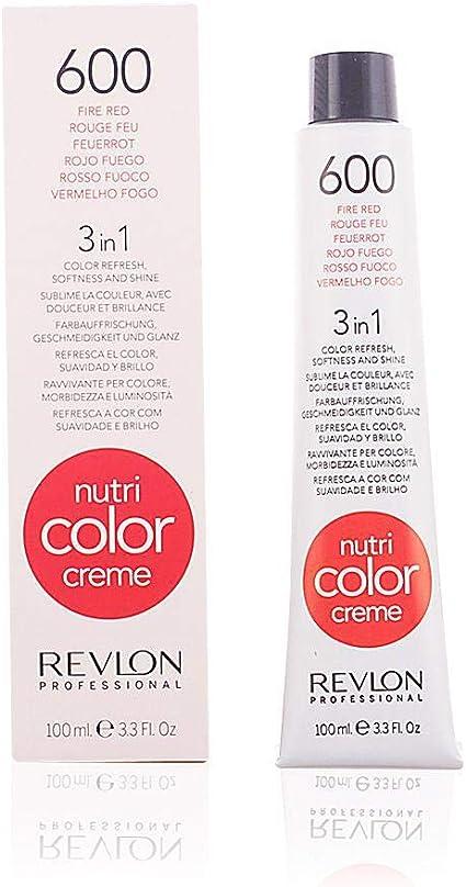 Revlon Nutri Color Creme 3en1 Tinte Tono 600 Fire Red - 100 ml