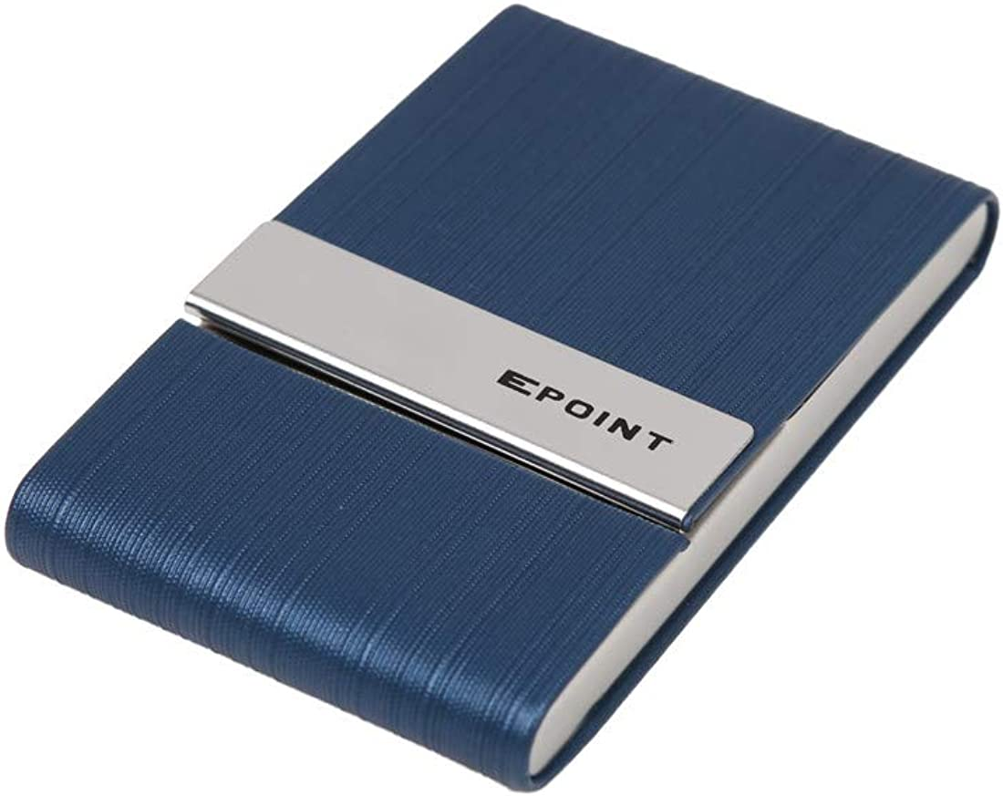 Epoint Mens Fashion Perfect Fashion Muticolor Nappa Leather Card Case for Mens Gift
