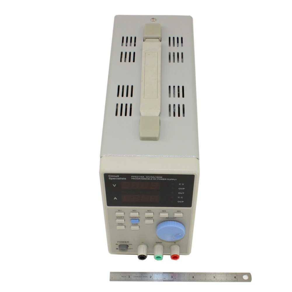 0 32vdc 5a Programmable Power Supply Circuit Specialists Pps2116a Icbatterybackuplithiumbattery Powersupplycircuit Industrial Scientific