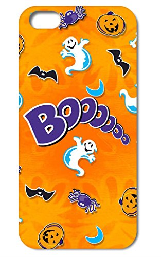 Online-custom Individual Festival Pattern Halloween Back Case for iPhone 5 (5s Online Halloween)